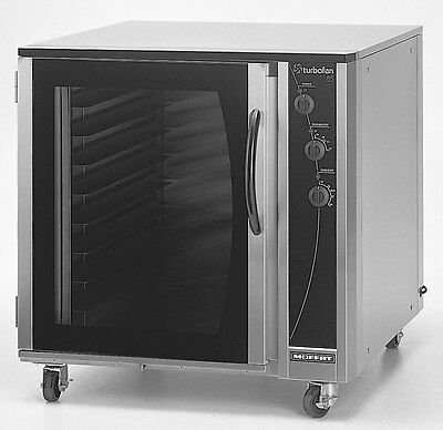 Moffat E85-A-8-HLD Turbofan 8 Pan Electric Proofer & Holding Cabinet w/ Casters