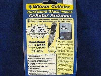 Wilson Dual Band Cellular Glass Mount Antenna ( New)