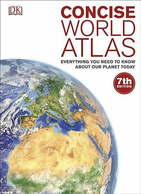 Concise World Atlas by Kindersley Dorling - Hardcover - NEW - Book