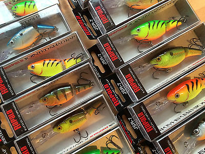Rapala jointed Shad Rap - Various colours and sizes.