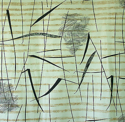 vintage 1958 'Tarn' Lucienne Day abstract print cotton interiors fabrics