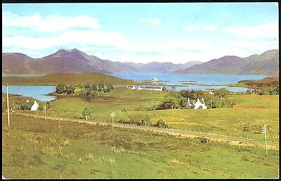 Postcard -Panoramic View  Isle Ornsay Isle Of Skye Scotland  Posted 1970 Stamped