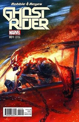 Ghost Rider #1 Gabrielle Dell Otto Color Variant Marvel NOW
