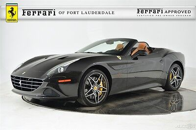2015 Ferrari California T Certified Pre-Owned CPO Magneride Chromed Grill Sport Exhaust Shields Extended Leather 20 Forged HiFi