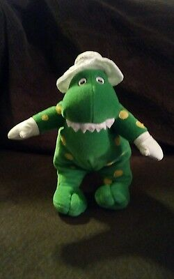 The Wiggles Plush Singing Dorothy the Dinosaur Stuffed Animal 11""