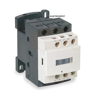 Lighting Latching Contactor 30A, 3 Pole 120VAC Coil 40A 50A DIN Rail IEC Latch