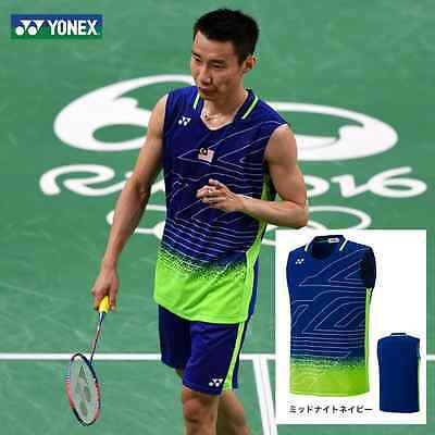 Lee Chong Wei Rio Olympic Yonex Badminton Shirt & Shorts Set -UK Stock Fast Post