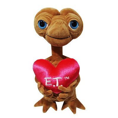 E.T. the Extra-terrestrial Valentines Heart Plush by Universal Studios Hollywood
