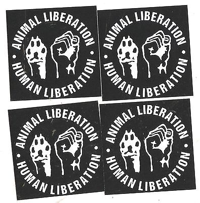 25 Animal Liberation Aufkleber stickers Punk HC sXe Vegetarian ALF Vegan