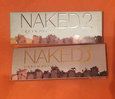 Brand New {Naked 2 & 3} Eye Shadows Palette Professional Makeup - Free Post