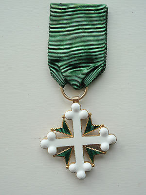 ITALY Order of St. Maurice and St. Lazarus knight grade made in gold! RARE. EF!