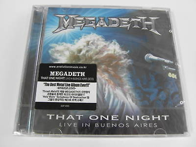 MEGADETH That One Night Live In Buenos [2 CD] $2.99 Ship
