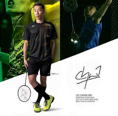 Lee Chong Wei Yonex Badminton Shirt & Shorts - Top Sportswear Sports Clothing