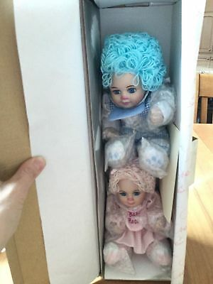 Marie Osmond Baby Rosie and Rags Porcelain Twin Dolls Limited