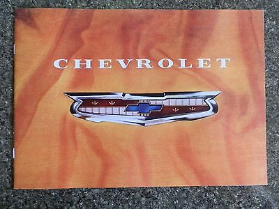 1957 Chevrolet ''super Rare'' Aust Rhd Sales Brochure. 100% Guarantee