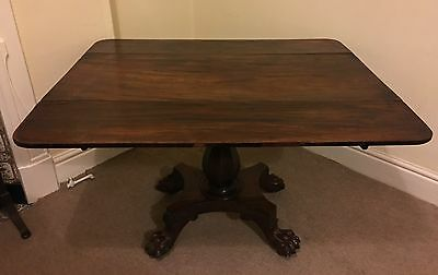 Antique Drop Leaf Table / Mahogany / No Reserve!
