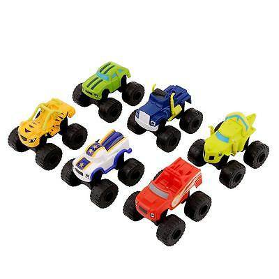 1PC NEW Blaze and the Monster Machines Vehicle Diecast Toy Racer Cars Truck - DD