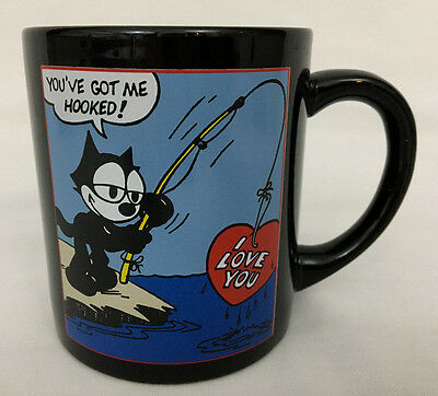 Felix The Cat Coffee Mug New Fishing Felix The Cat Mug 12oz I Love You