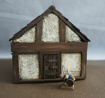 WARGAME Terrain Scenery Medieval House Hand-Crafted Warhammer Fantasy LOTR