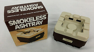 1984 Vintage Smokeless Ashtray New In Box