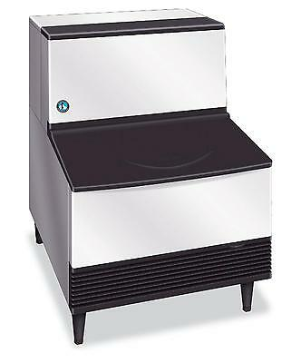 Hoshizaki KM-201BAH 215lb Crescent Cube Ice Maker Machine w/ 80lb Ice Storage