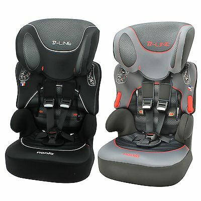 Nania Baby / Child / Kids Beline SP Group 1/2/3 Car Seat