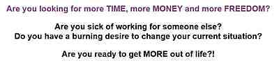 Work from home business - Part time or Full time For Sale