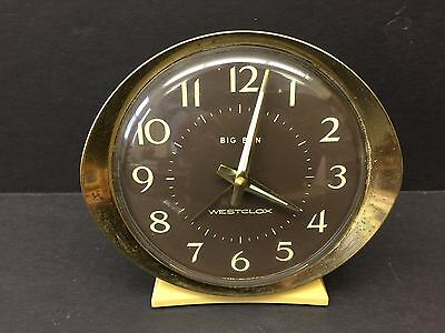 Vintage Big Ben Westclox Alarm Clock - Model 10040 - Fast Shipping!