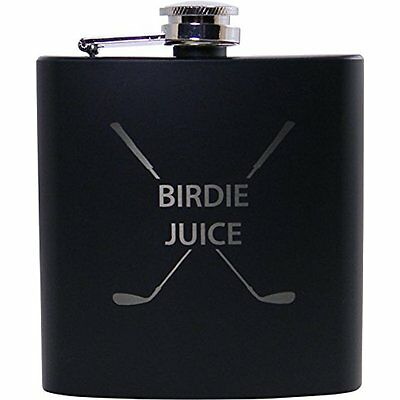 Flasks Birdie Juice 6oz Flask - Great Gift for A Golfer, Fathers Day, Birthday,