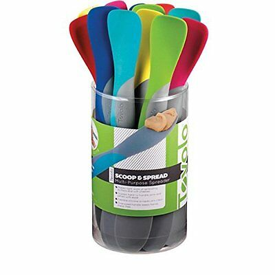 Spreaders Mini Scoop and Spread - Assorted Colors (1 Unit Included)