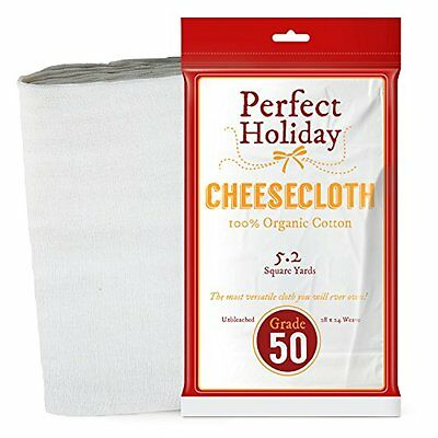 Cheese Makers Organic Cheesecloth - Best 100% All Natural Food Grade With Cotton
