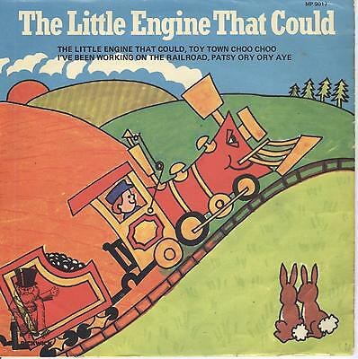 """4 Songs THE LITTLE ENGINE THAT COULD 7"""" Vinyl Single EP Record"""