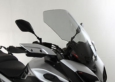 YAMAHA MT-09 TRACER 15-16 TOURING SCREEN (500mm High 430mm wide) LIGHT TINT