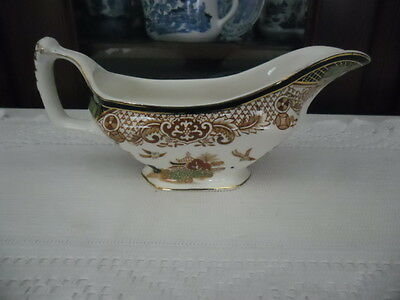 Woods @ Co Coloured Willow Gravy Jug England
