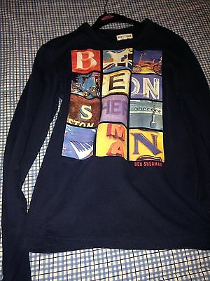 Boys Ben Sherman Long Sleeved Top Age 14/15 Years