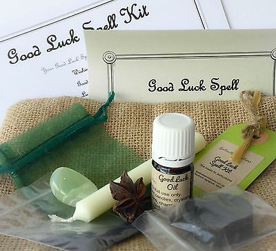 Good Luck Spell Kit - WICCA WITCH Lucky Money Gamblers Business