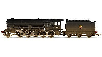 Hornby Railroad- R3356 Br Class 9F Crosti Boiler Weathered Locomotive '00' Scale