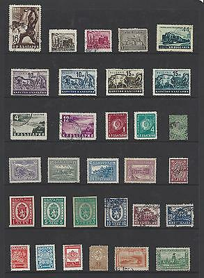 Ref 313 Bulgaria - 31 stamps (Combine items for p&p discount)