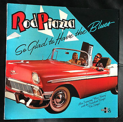 ROD PIAZZA - So Glad To Have The Blues - LP UK 1988 SPD 1015 *RARE* EX/VG+