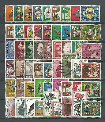 Germany, Used, 54 Various