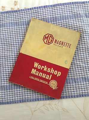 Mg Magnette Original Workshop Manual