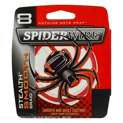 Dynema Spiderwire Stealth Smooth 8 Fili mt 300 Red