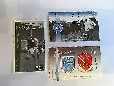 Football Stamps West Ham Bolton 1922-3 Fa Cup Final