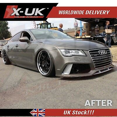 Rs7 Front Bumper Complete Conversion For Audi A7 S7 2011-2015