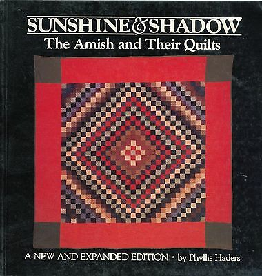 Amish Quilts - Types Development Patterns Designs / Scarce Illustrated Book