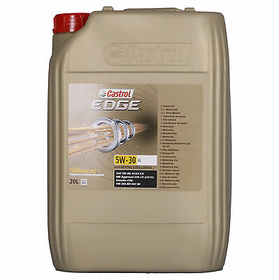 Castrol  20 Litre EDGE Titanium FST 5W-30 LL  Canister