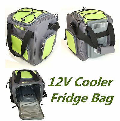 New 12V Insulated Electric Cooler Cool Bag 14L Food Drink Picnic