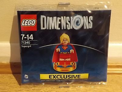 Lego Dimensions 71340 Super Girl Exclusive Figure Limited Edition Supergirl New