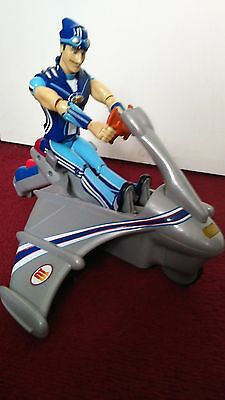 Sportacus and Sky Chaser Lazy Town-rare toy