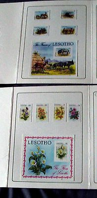 Lesotho Stamps Mint Proofs In Presentation Pack By Format International Printers
